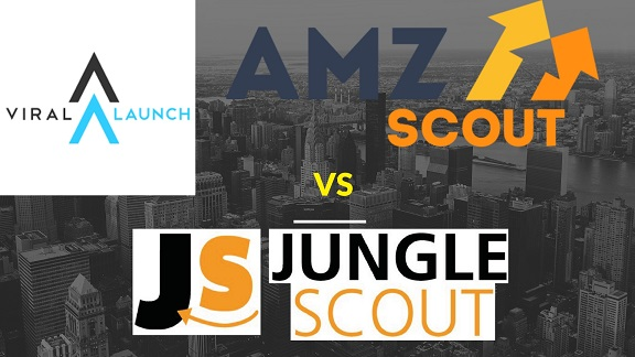 amzscout vs jungle scout vs viral launch